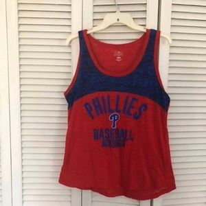 ~5 for $20~ Ladies Phillies Tank top xl